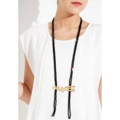Kuwait 1 necklace (black)