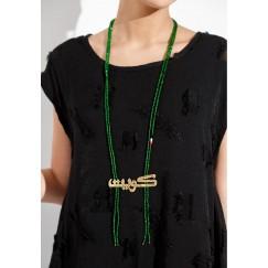 Kuwait 1 necklace (green)