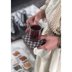 Tea & Coffee Set Brown