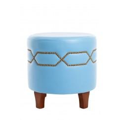 Round stool baby blue