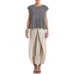Sherwal & Checkered Top