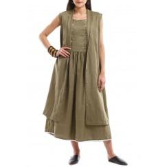 Khaki Julaih & Dress
