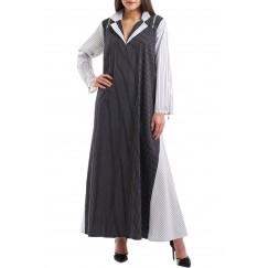 The zipper dress kaftan