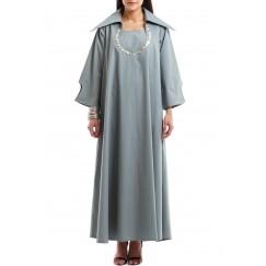 The double effect Buttons dress kaftan