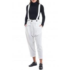 Boyfriend white pants