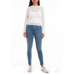 Knit thin shirt