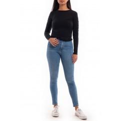 Black knit thin shirt
