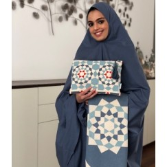 Blue Moroccan Khemar Set