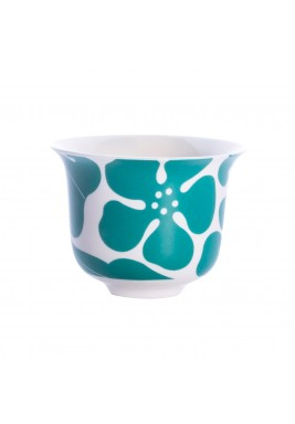 Odette Arabic Coffee Cup – Teal