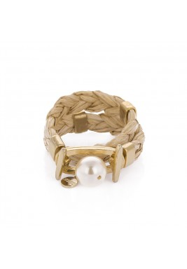 Mat pearl bracelet
