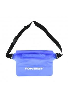 Blue 22 cm Waterproof Belt Pouch