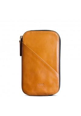 Caramel  Travel Phone Wallet