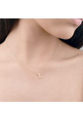 Ashara Necklace (Yellow Gold)