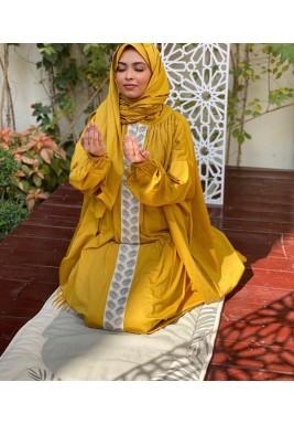 Mustard Palm Prayer Set