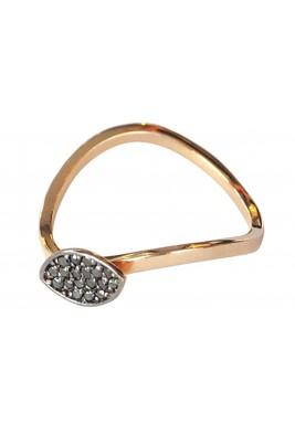 Shuttle Ring Black Diamond