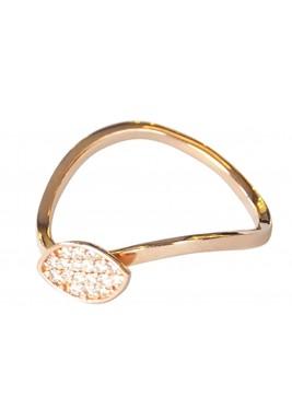 Shuttle Ring -Diamond