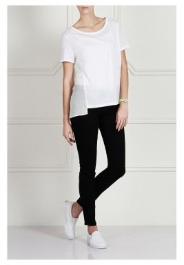 Black High-Rise Skinny Jeans