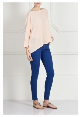 High-rise skinny jeans - Blue