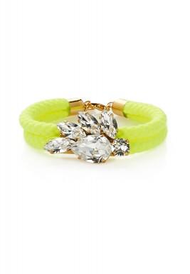 Crystal crown bracelet