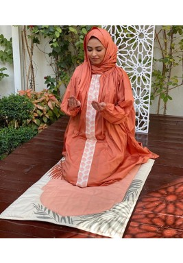 Orange Palm Prayer Set