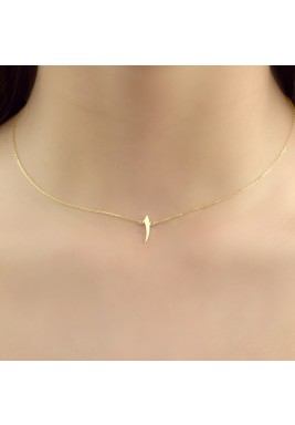 Wahid Necklace (Yellow Gold)