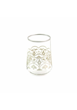 Koleksiyon Water Silver Glass, Short, 6 Pieces Set - Print 21