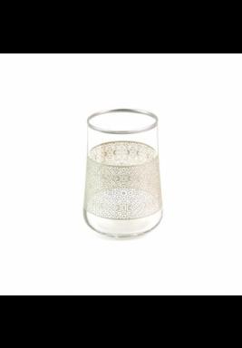 Koleksiyon Water Silver Glass, Short, 6 Pieces Set - Print 23