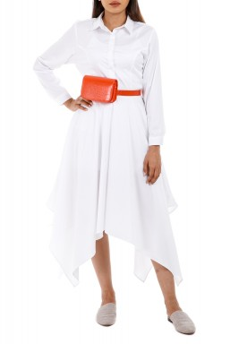 Zurina White Dress