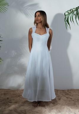Cava White Dress