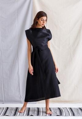 Black Vest and Dress