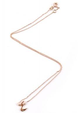 Arba'a  Necklace (Yellow Gold)
