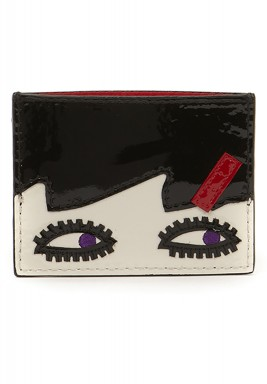 Doll face card holder
