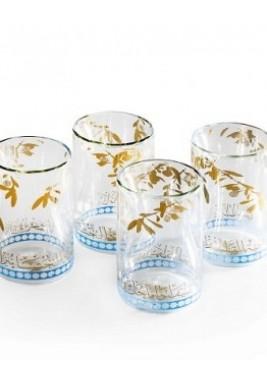 Glass-DBL-Zaytoun-Set of 4