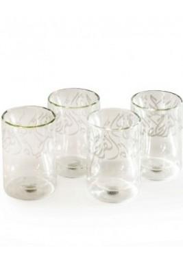 Glass-Joy-Platinum-Set of 4