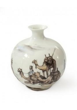 Ceramic Case Pencil Sketch Camel