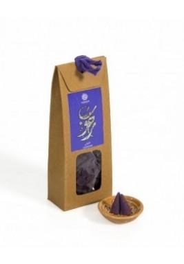 Lavender Bakhour Cones