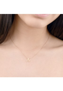 Rose Gold Thamanya 18 k Gold Necklace