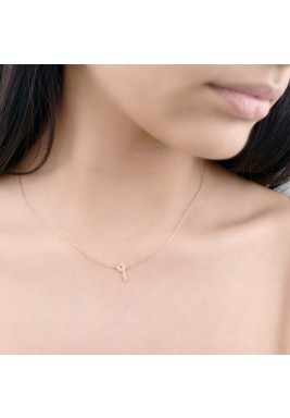 Rose Gold Tis'aa 18 K Gold Necklace