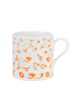 Accents Mug - Coral