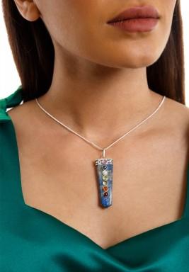 Shimmering aura - lapis lazuli