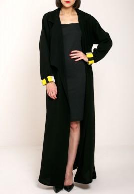 Black Jacket Abaya