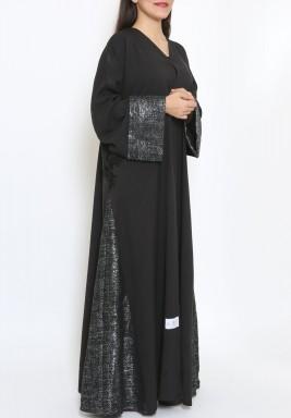 Elegant Black Abaya