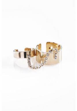 Set of band & mini ring