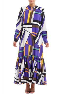 Midi Silk Dress
