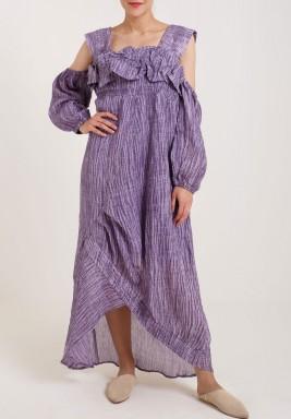 Purple Comfy Kaftan