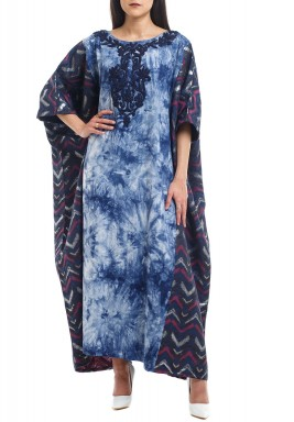 Denim Blue Dyed Kaftan