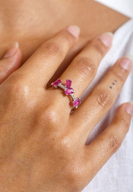 The Pink Diamond Ring