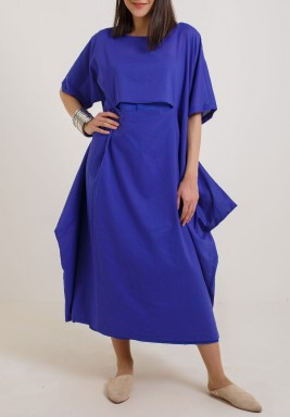 Comfy Me Blue Dress