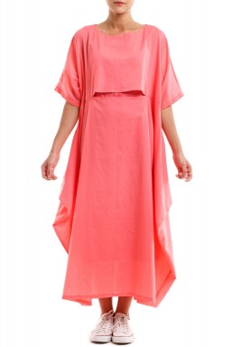 Comfy Me Dress Pink
