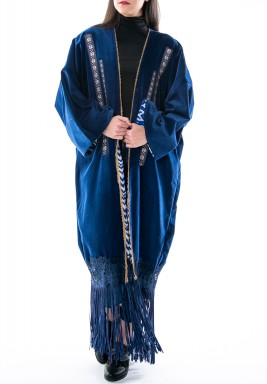 Wicked Blue Bisht